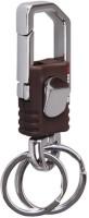 City Choice Omuda 3713 Locking Key Chain (Chrome & Brown)