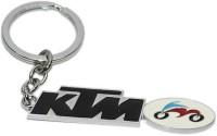 Aura KTM Bike Full Metal Imported Key Chain (Multicolor)