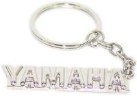 AURA Full Metal Yamaha Bike Logo Key Chain (Silver)