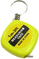 DCS Measurement Tape Keychain Locking Carabiner (Yellow)