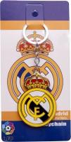 Spotdeal SDL101 Real Madrid Metallic Key Chain Key Chain (Multicolor)