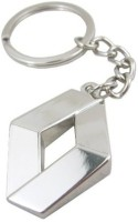 Mooz Renault Full Metal Key Chain (Silver)