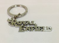 Aura Royal Enfield Full Metal Key Chain: Carabiner