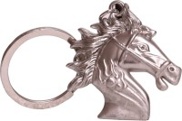 Zeroza Horse Face Full Metal FY92 Key Chain (Silver)