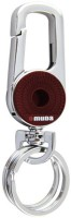 City Choice Omuda 3709 Brown Locking Keychain (Chrome & Brown)