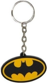 Ezone Black YellowBatMan Key Chain(Multicolor) Carabiner