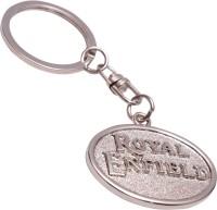 Zeroza Royal Enfield Full Metal RE18 Key Chain (Silver)