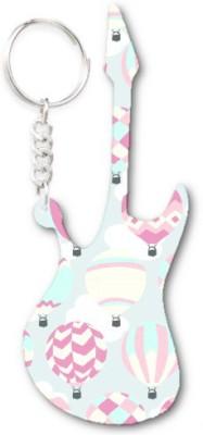 Lolprint 364 Pattern Guitar Key Chain