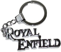 Ezone Royal Enfield Full Metal Key Chain Carabiner (Silver)