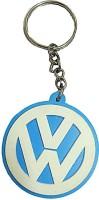 DCS VolkswagenLogo Rubber Key Chain (Blue & White)