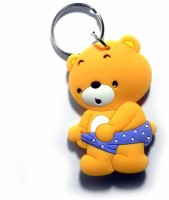 Techpro Doublesided Ted Bear Key Chain (Multi Color)
