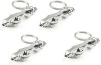 Chainz Pack Of 3D Jaguar Metal (Silver)