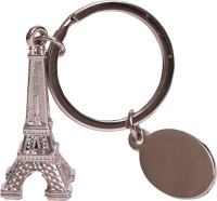 Oyedeal Eiffel Tower Full Metal Key Chain (Silver)