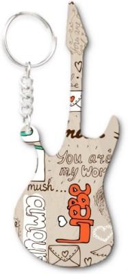 Lolprint 261 Pattern Guitar Key Chain