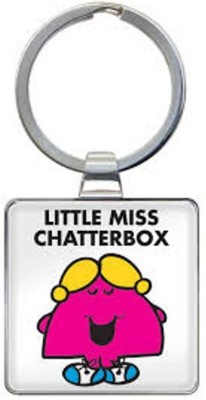 Little Aiva That Company Called If LITTLE MISS CHATTERBOX KEYRING Key Chain