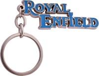 Spotdeal SDL354 Royal Enfield Metal Key Chain Key Chain (Blue)