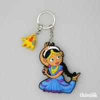 Chumbak Bharatnatyam Key Chain Multi-color
