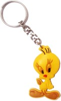 Vibrating Phantom Cute Tweety Cartoon Key Chain (Yellow)
