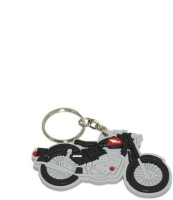PARRK Royal Enfield Bullet Bike Locking Key Chain (Multicolor)