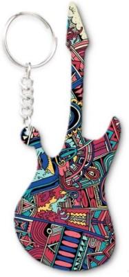 Lolprint 335 Pattern Guitar Key Chain