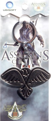 Oyedeal Assassins Creed III Eagle Key Chain Silver