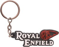 Confident Royal Enfield RE Bike Logo Keychain (Multicolor)