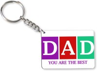 Tiedribbons Gift For Father's Day_Special Dad_17 Key Chain (Multicolored)