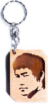JM Bruce lee face Key Chain