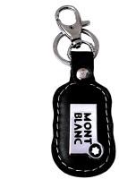 FCS Leather Mount Banc Locking Key Chain (Black)