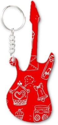 Lolprint 262 Pattern Guitar Key Chain