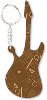 Lolprint 27 Pattern Guitar Key Chain