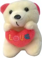 Brndey Cute Pink Teddy Bear Keychain (Pink)