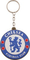 JLT Chelsa Football Club Silicone Key Chain (Multicolor)