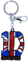 Chainz One Direction Metal Union Jack Locking Key Chain (Multicolor)
