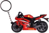 Oyedeal KYCN737 Bike Shape Yamaha Keychain (Multicolor)