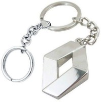 24x7shop Renault Full Metal Key Chain (Multicolor)
