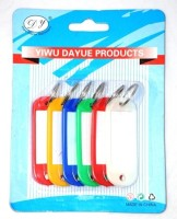 Dolphin Tag(Medium) - Pack Of 6 - Combo Of 5 Packs Locking Key Chain (Multicolor)