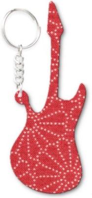Lolprint 363 Pattern Guitar Key Chain
