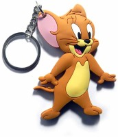 Techpro Doublesided Jerry Mouse Key Chain (Multi Color)
