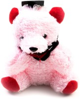 THINKSTERS Pink Teddy Bear Keychain Carabiner (Pink)