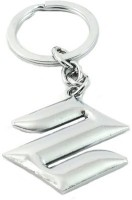 MO Suzuki Metal Bent Gate, Curved Key Chain (Silver)