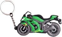 Oyedeal KYCN745 Bike Shape Kawasaki Keychain (Multicolor)