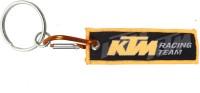 Confident Cloth Locking KTM Bike Key Chain (Multicolor)