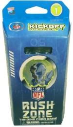 NFL RUSH ZONE Card Games NFL RUSH ZONE Trading Starter Box