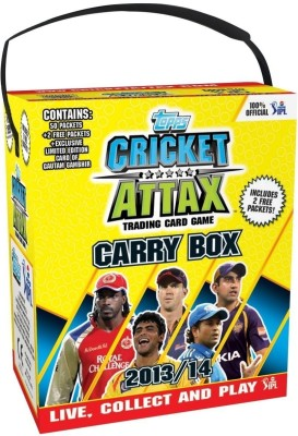 Card Games   Topps Card Games   Topps IPL 2013 Cricket Attax Display