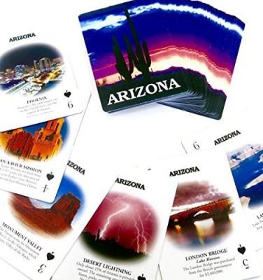 Shopitivity LLC Card Games Shopitivity LLC arizona souvenir playing sdouble deck