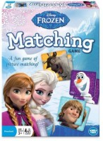 Wonder Forge Disney Frozen Matching (Blue)