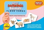 MindWealth Learning & Educational Toys MindWealth Krazy Domestic Animals Flash Cards
