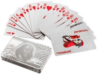 Imported 2 Packs Of Silver Cards (Silver)