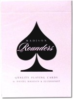 Ellusionist Card Games Ellusionist Madison Rounders Playing Cards Black Deck